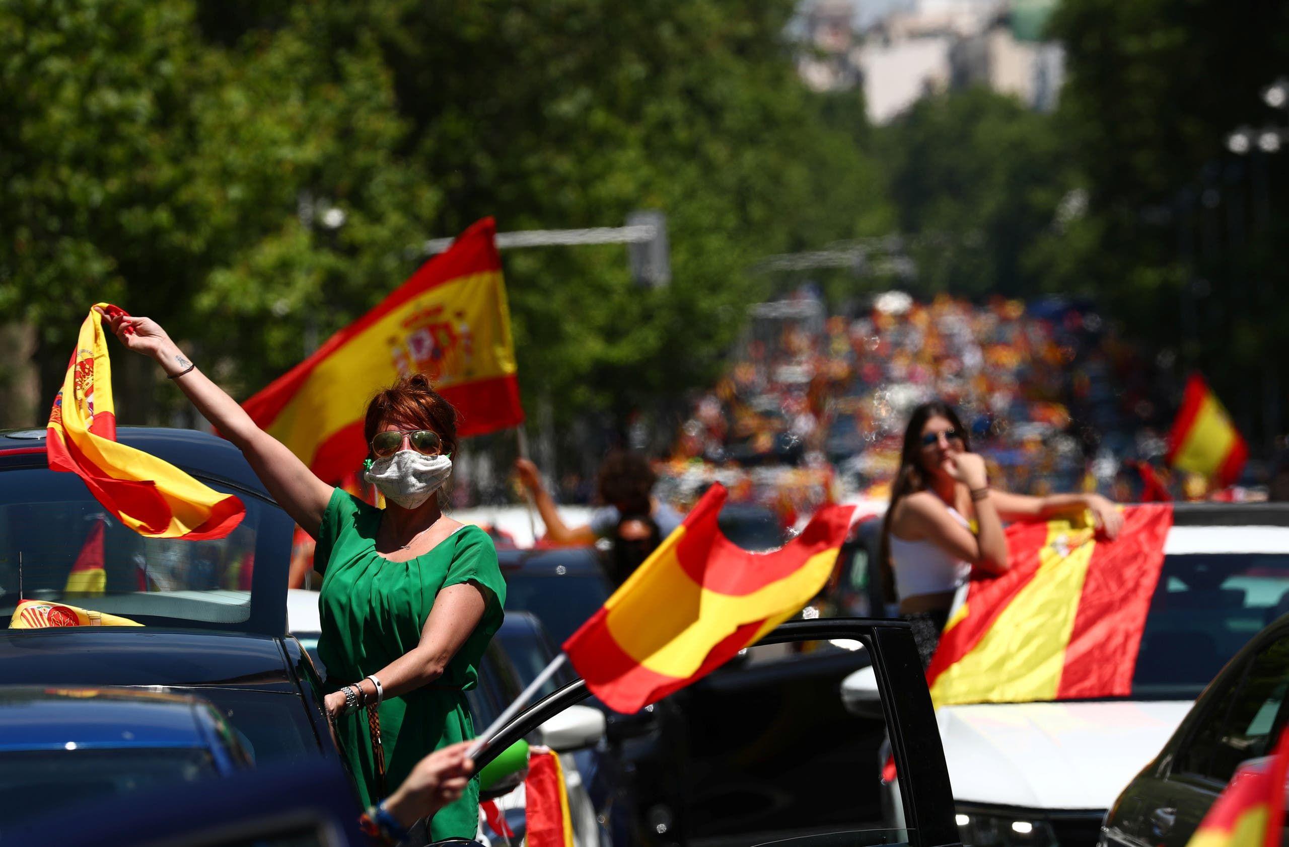 من تظاهرات إسبانيا