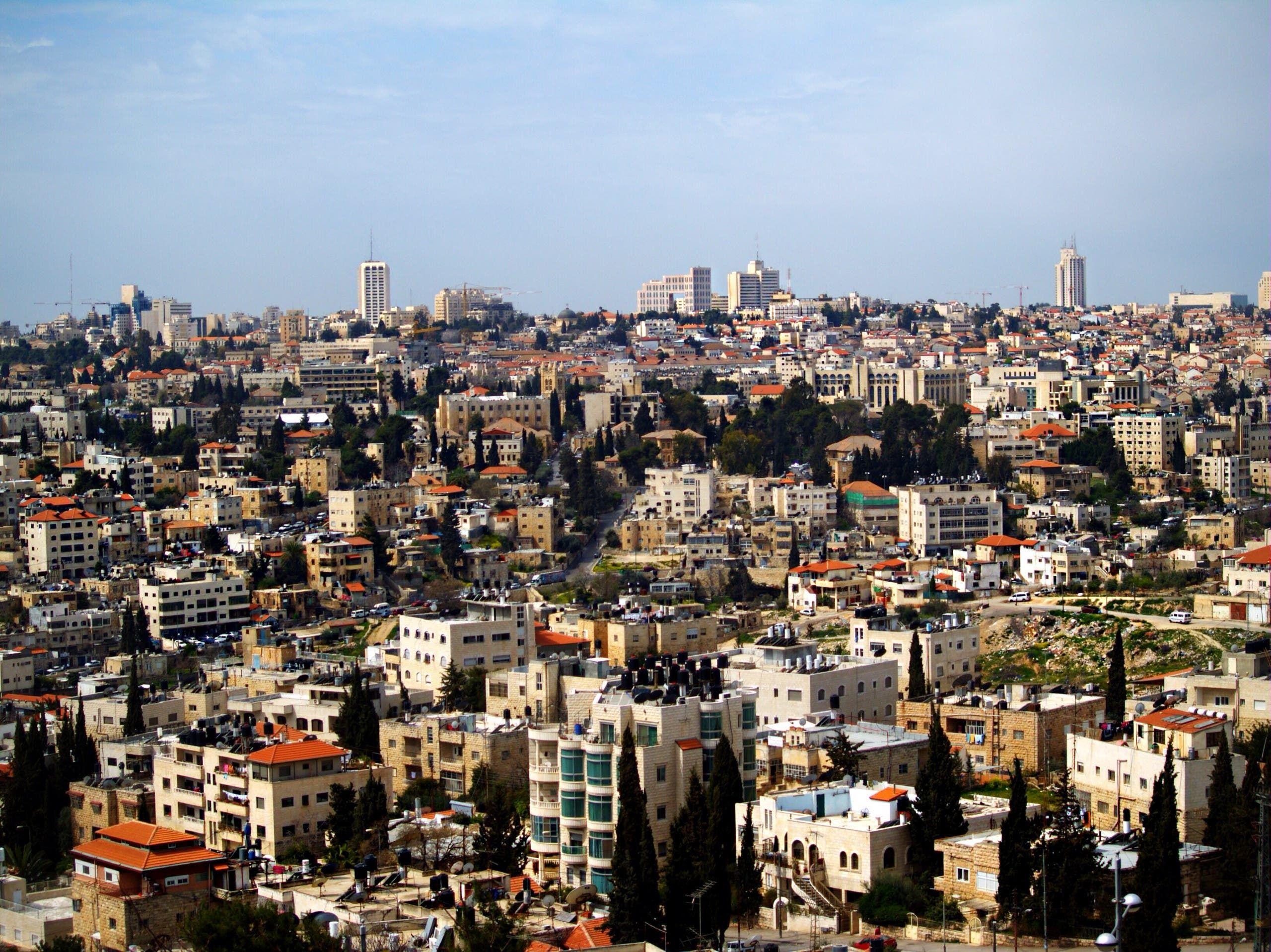 حي الشيخ جراح في القدس المحتلة
