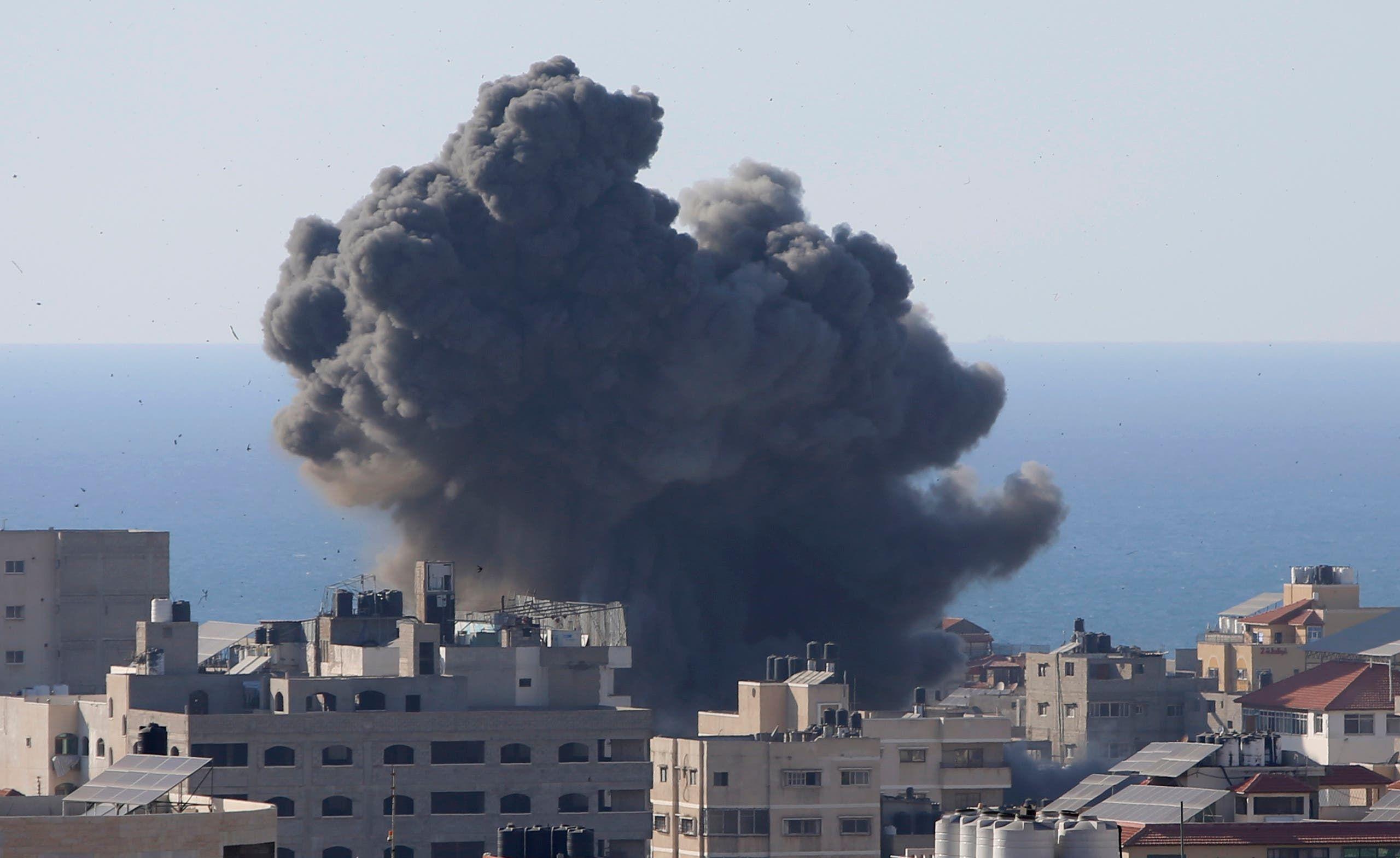 غزة تتعرض لهجوم إسرائيلي وحشي منذ حوالي أسبوع