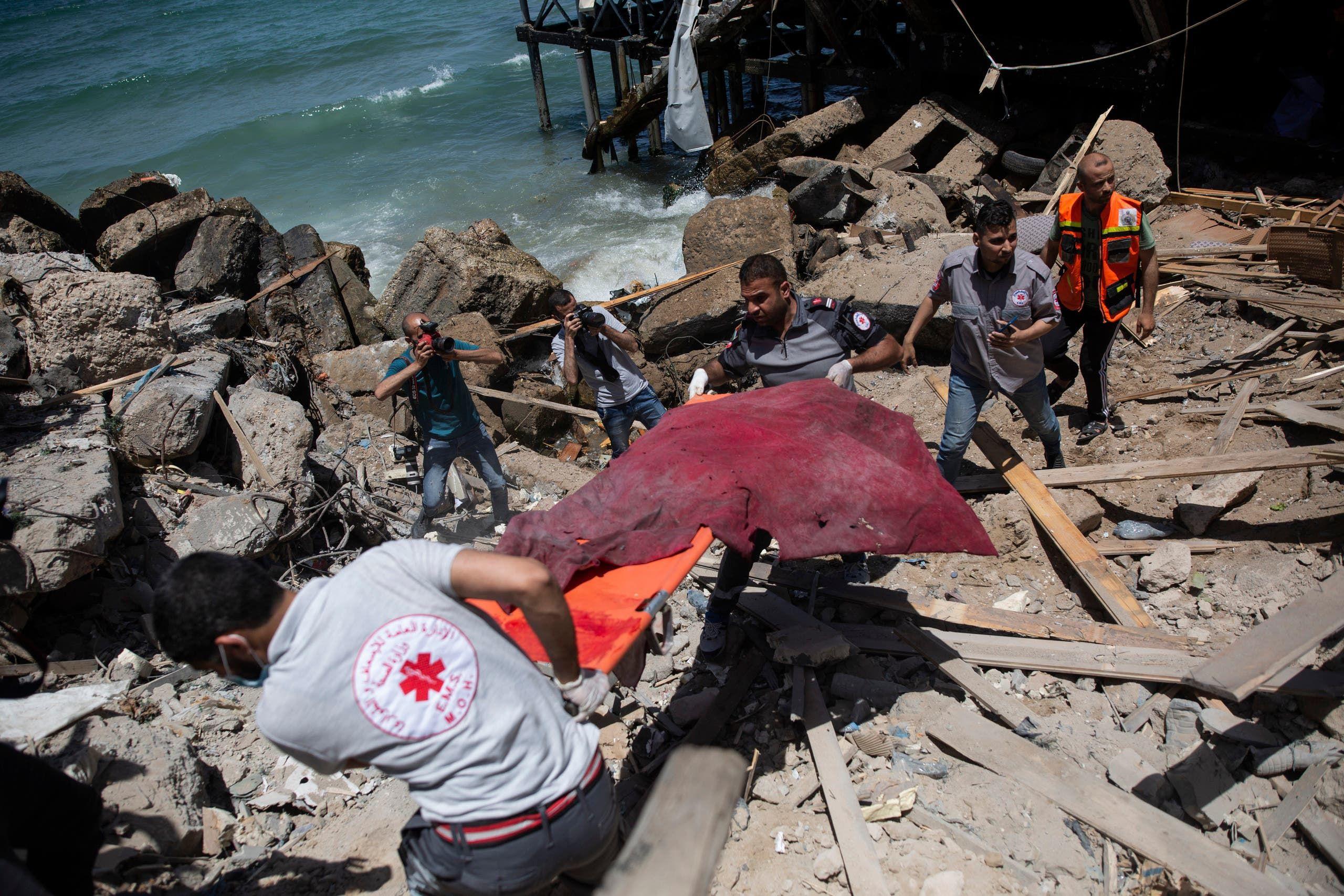 من غزة (أسوشييتد برس)