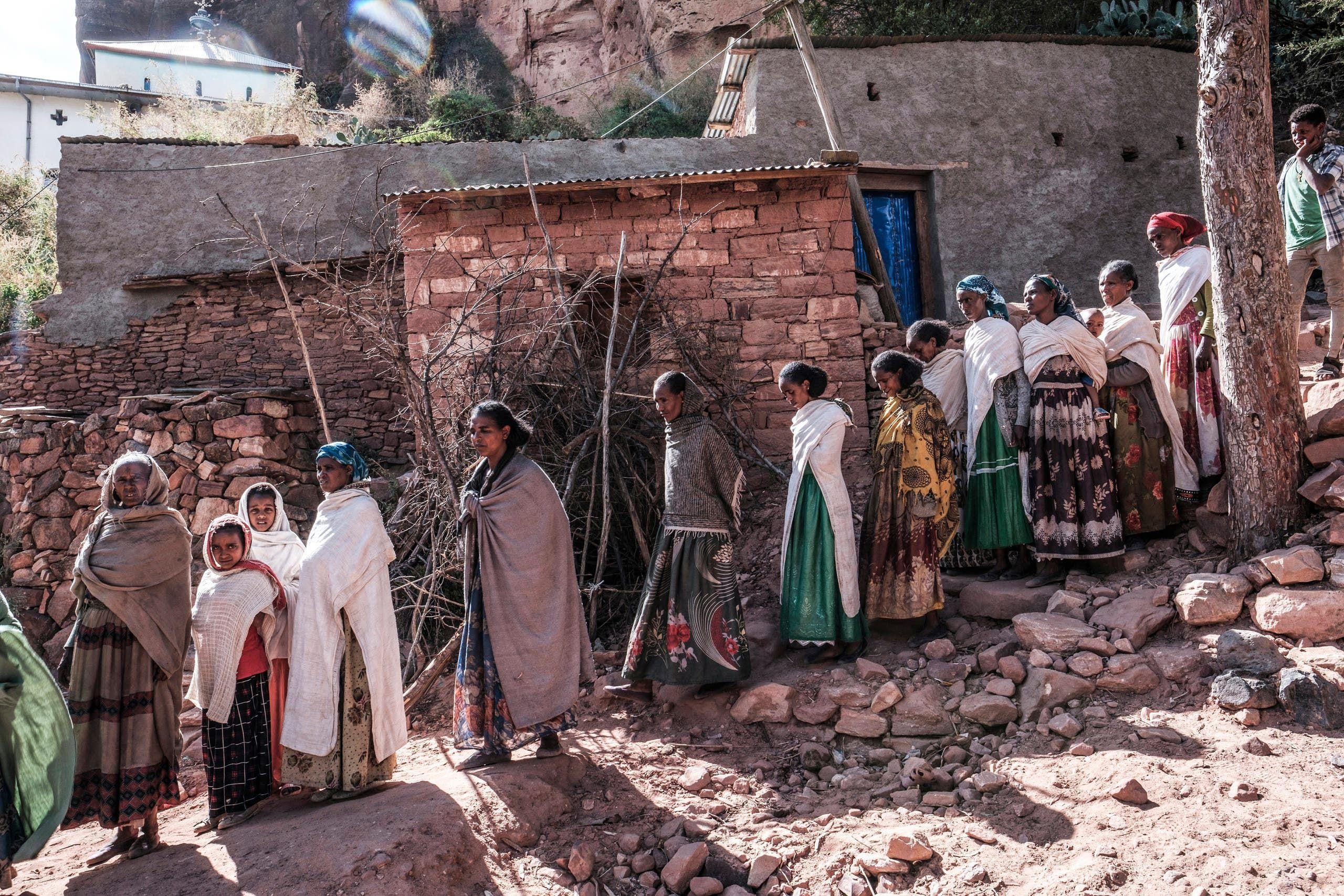 سكان من تيغراي (أرشيفية- فرانس برس)