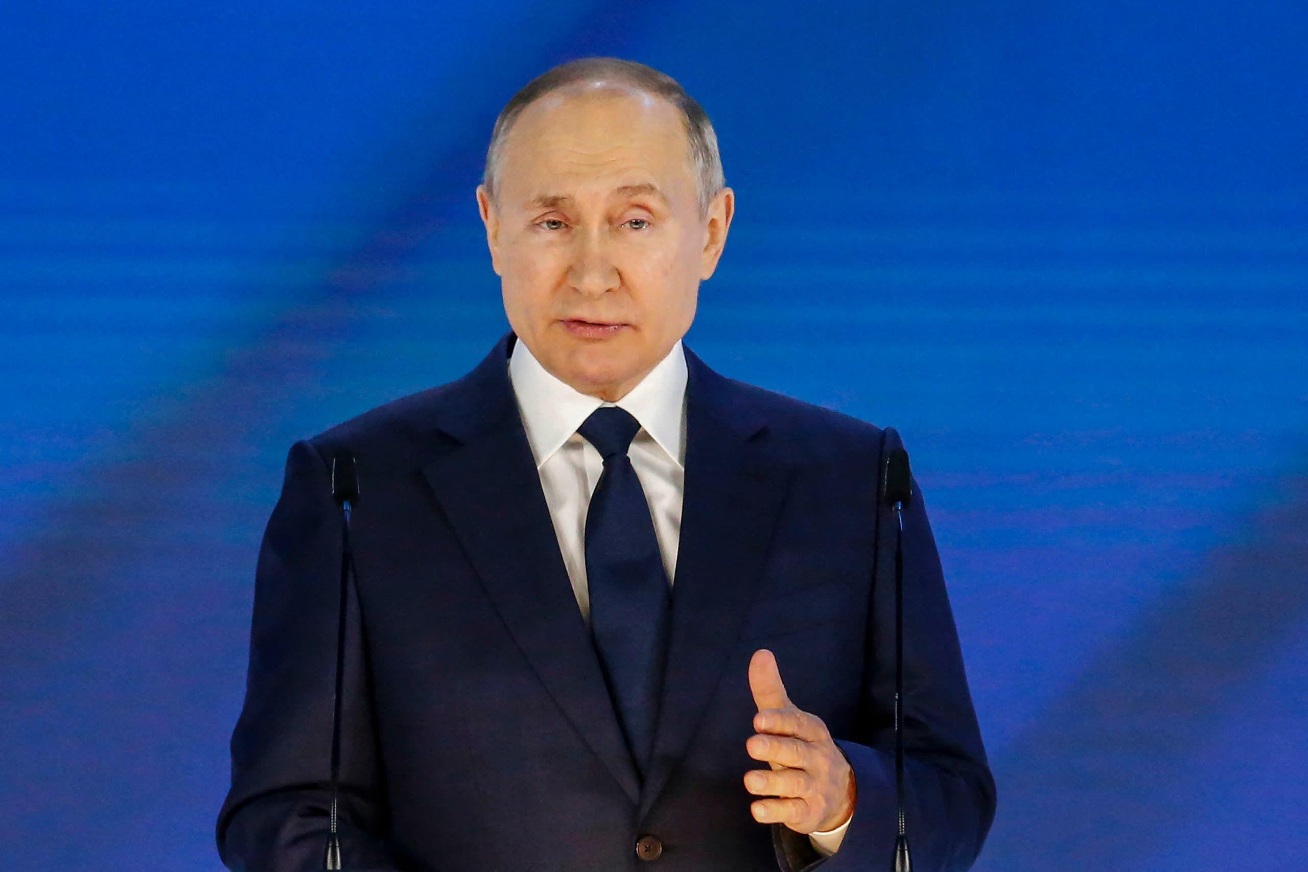 الرئيس الروسي فلاديمير بوتين (فرانس برس)