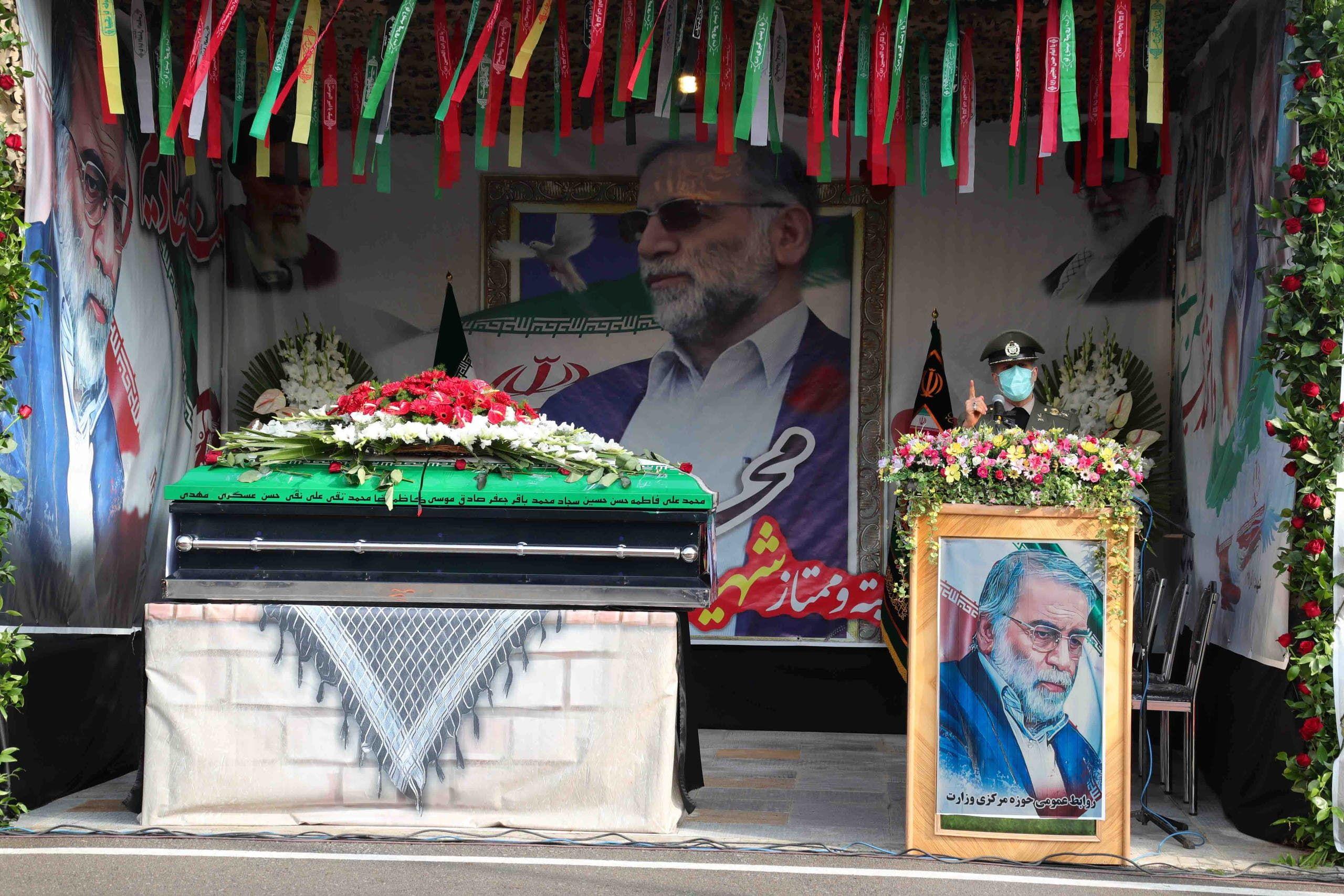 العالم الإيراني محسن فخري زاده (رويترز)