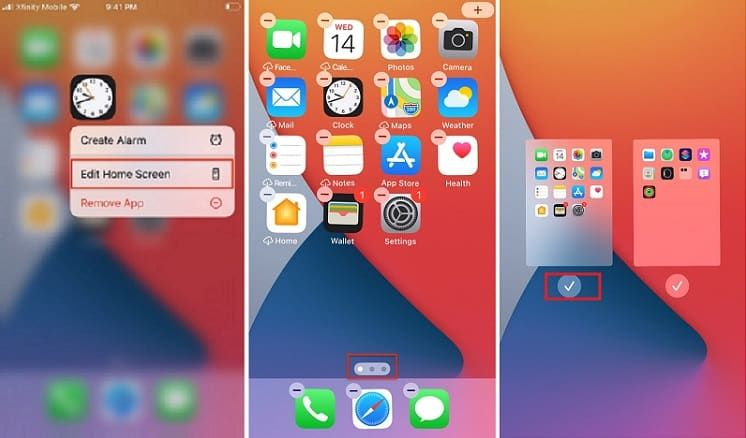 إخفاء التطبيقات من الشاشة الرئيسية في آيفون