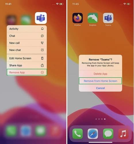 كيفية إخفاء الشاشة الرئيسية أو حذفها في آيفون