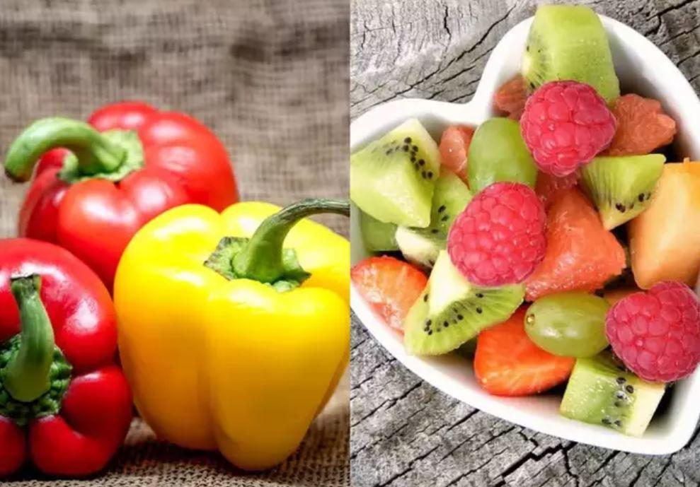 الخضروات والفاكهة الصحية