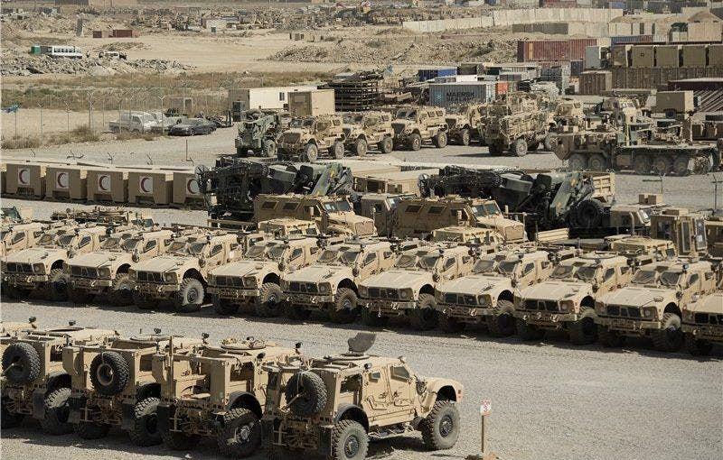 مدرعات أميركية استولت عليها طالبان