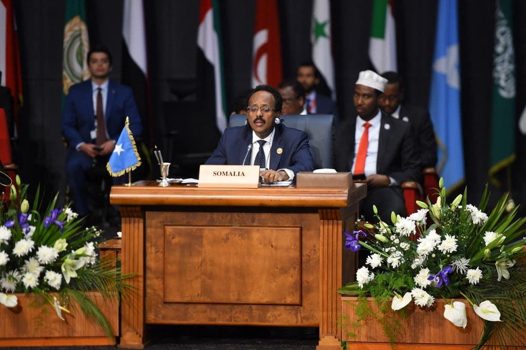 الرئيس الصومالي محمد فرماجو