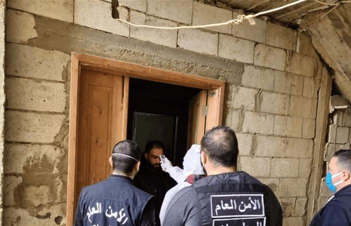 الامن العام يشرف على مخيمات النازحين السوريين في الشمال