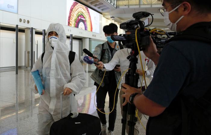 الصين: 54 إصابة جديدة بكورونا جميعها لوافدين من الخارج
