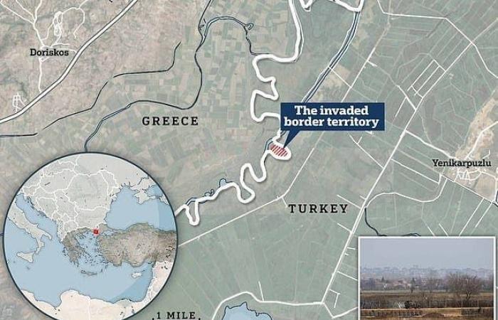 أثينا تتهم تركيا بالاستيلاء على قطعة أرض يونانية