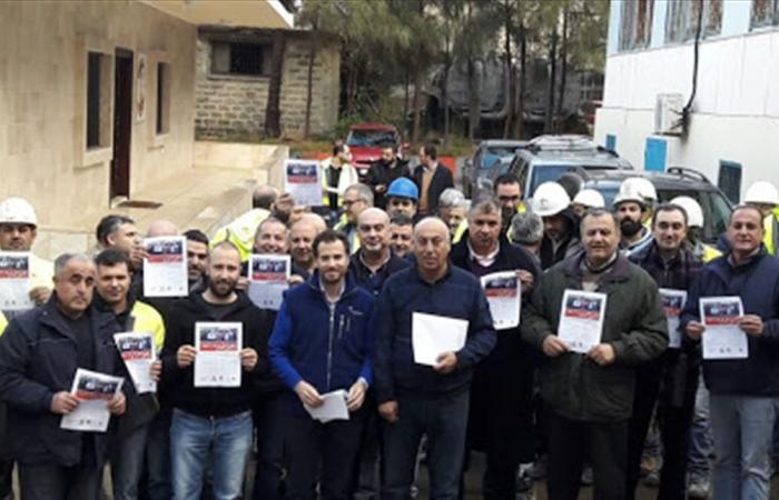 4 نقابات تضامنت مع عمال هولسيم في شكا: لعدم تصفية الحسابات الضيقة في قضايا العمال