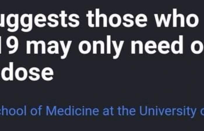 دراسة أمريكية تؤكد: المتعافون من كورونا يحتاجون جرعة واحدة فقط من اللقاح