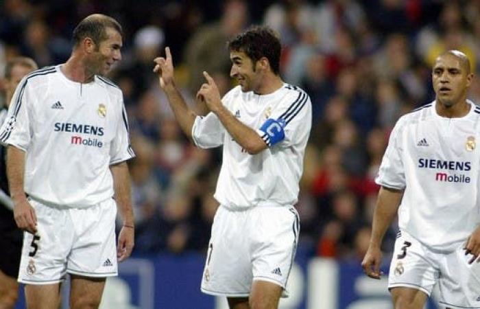 راؤول يؤكد جاهزيته لخلافة زيدان في تدريب ريال مدريد