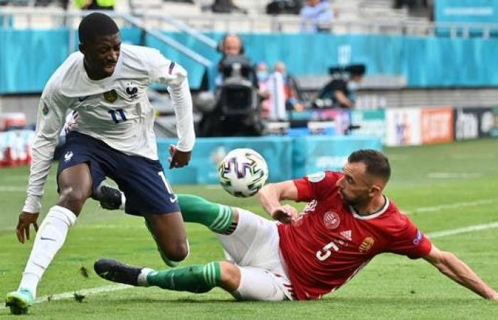 الإصابة تحرم الفرنسي ديمبلي من الاستمرار في كأس أوروبا