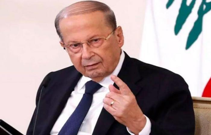 بعبدا تنفي خبر استياء عون من امتناع دياب توقيع إقراض مصرف لبنان