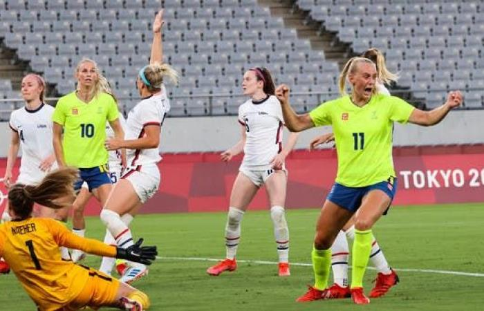 سيدات أميركا يخسرن للمرة الأولى منذ 45 مباراة