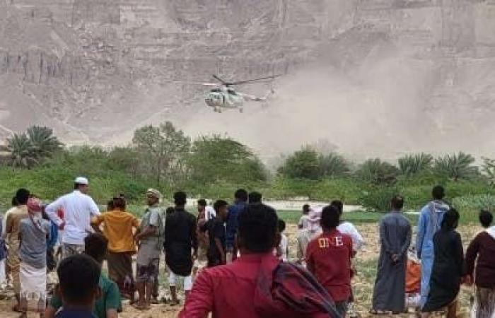 وفاة 7 أشخاص غرقاً بسيول جارفة شرق اليمن