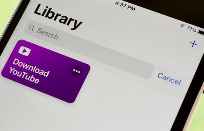 كيفية تنزيل مقاطع يوتيوب في هاتف آيفون