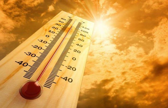 انخفاض طفيف في الحرارة الايام المقبلة