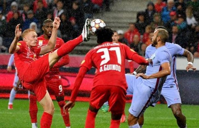 سالزبورغ يهزم برشلونة ودياً