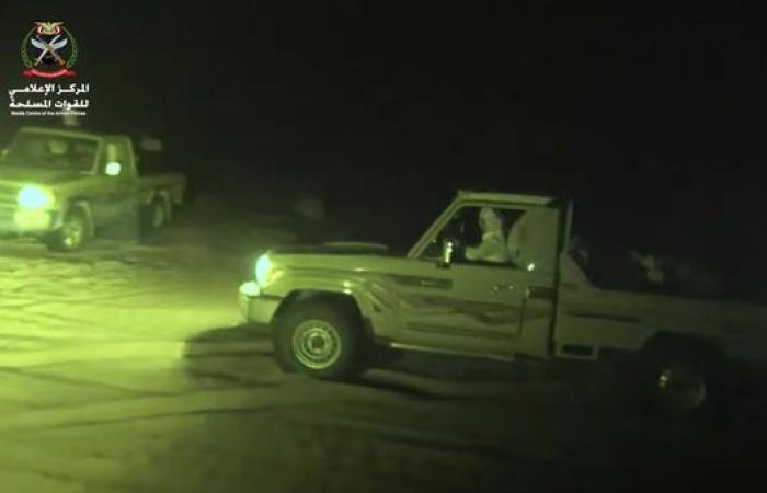 فيديو.. اقتحام الجيش مواقع حوثية وفرار الميليشيا في مأرب