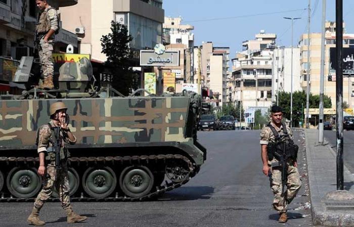نزوح كثيف للسكان بمناطق الاشتباكات في بيروت 
